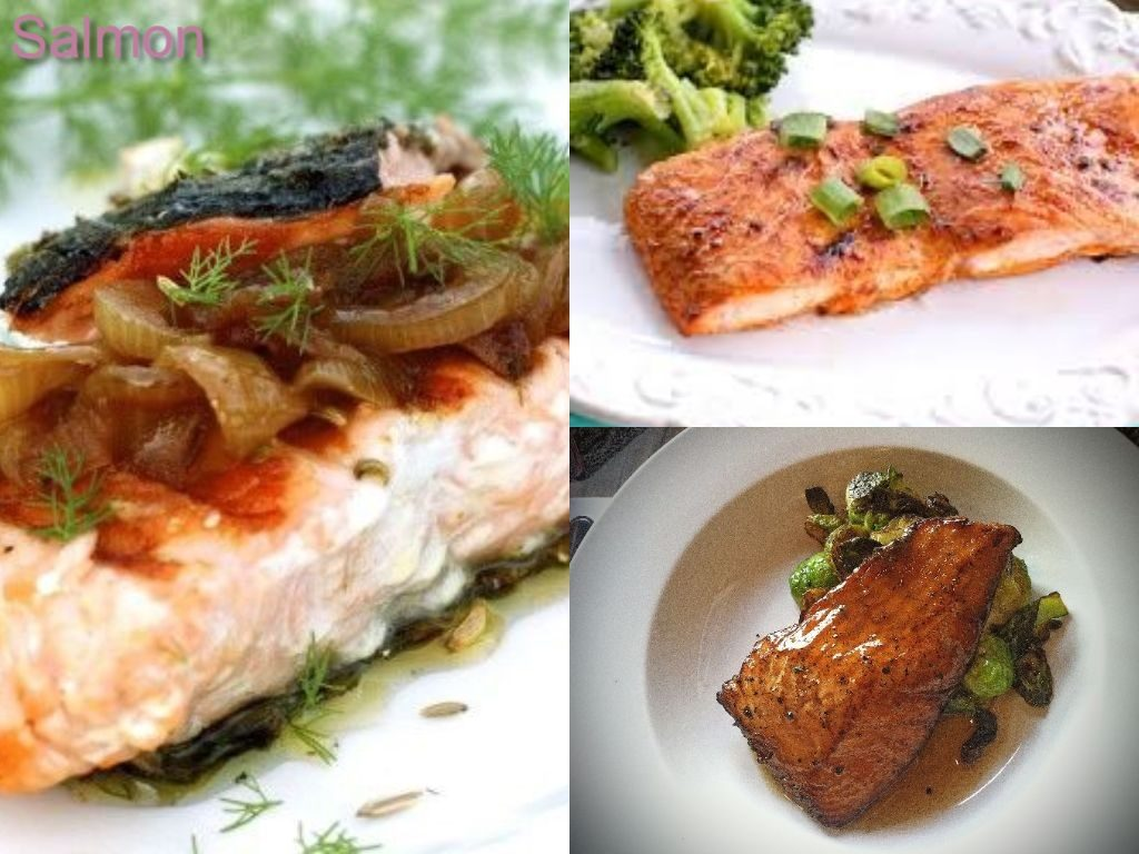 Images of salmon